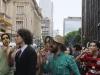 Com Marcelo Noronha, no clipe da 'Marcha'. Foto de Adriana Branco