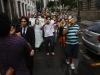 Marchando com a rede social. Foto de Adriana Branco
