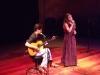 No Teatro Paiol (Curitiba) com Cintia Graton