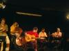 Quinteto Sacradança em ação no Cinemathéque. Foto de Carol de Holanda